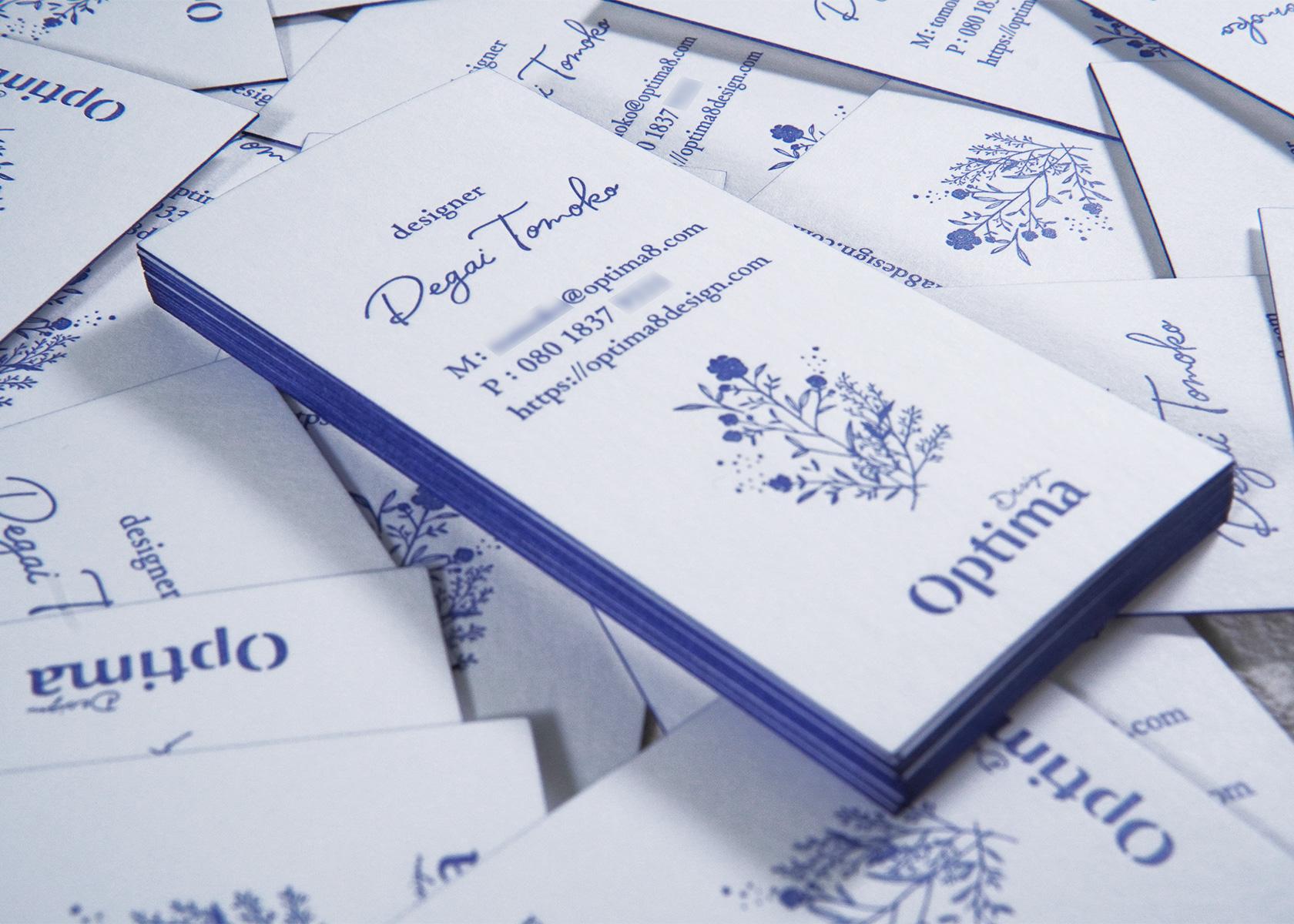 OptimaDesignの名刺